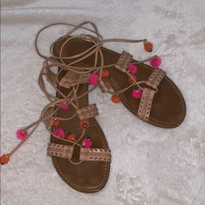 Madden Girl Wrap Sandals